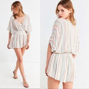 Urban Outfitters Other - Urban Outfitters UO Moonstruck Striped Romper